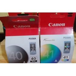 Canon 40 y 41 originales