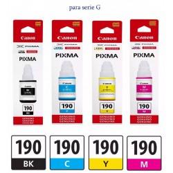 TINTA CANON 190 ORIGINAL...
